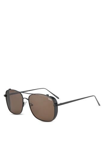 Quay Australia black Weekend Warrior Sunglasses QU661GL0SHY3MY_1
