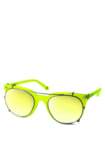 HEX EYEWEAR yellow and green Athlete - Cristiano R. - Optical with Clip-on - Italy Design HE671AC2V1K3HK_1