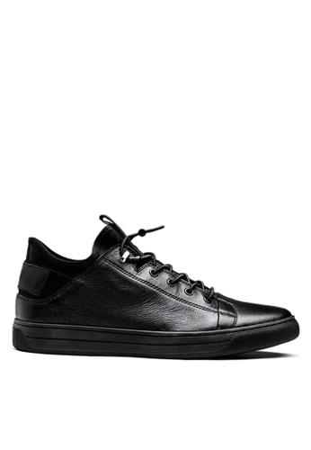 Twenty Eight Shoes 黑色 萊卡布後包跟運動鞋 VMT501 3495ASHDC7D88DGS_1