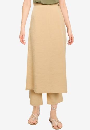 niko and ... beige Skirt and Pants Set D763BAA07E5910GS_1