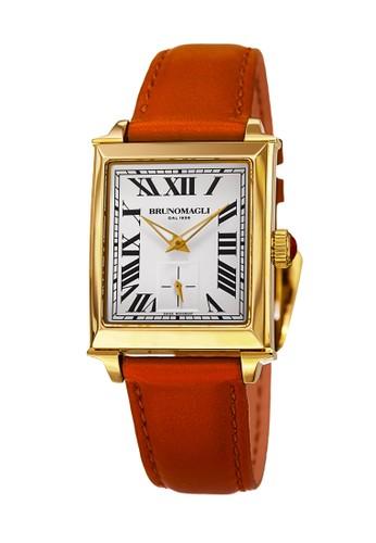 Bruno Magli orange Bruno Magli Valentina 13.171061.GN Jam Tangan Wanita Gold Orange F2C13AC286CF85GS_1