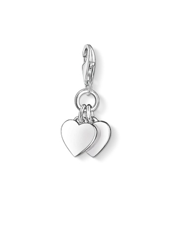 Buy thomas sabo charm pendant two hearts online on zalora singapore thomas sabo silver charm pendant two hearts 82437ac827cea7gs1 aloadofball Image collections