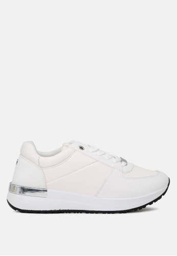 London Rag white Active Lace-up Sneakers E4683SH4BFBD5FGS_1
