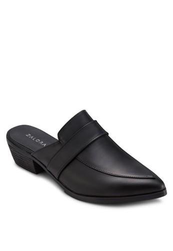 尖頭露跟低跟鞋, zalora 手錶 評價女鞋, 鞋