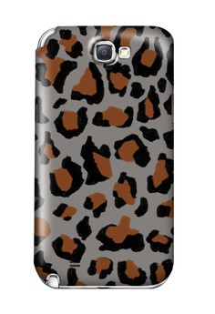 Funky Cheetah Print F Glossy Hard Case for Samsung Galaxy Note 2