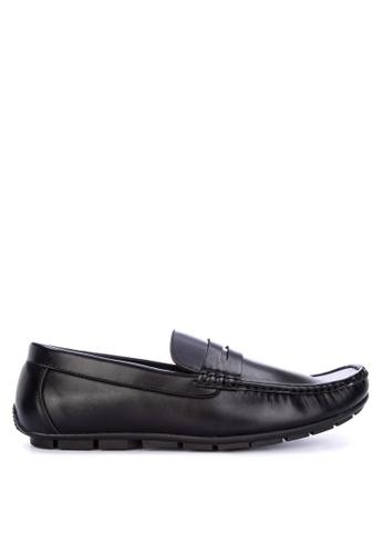 Italianos black Leonardo Loafers 875CBSH755CE04GS_1