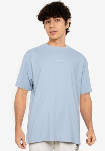 Abercrombie & Fitch blue Exploded Graphic T-Shirt 04728AAF463089GS_1