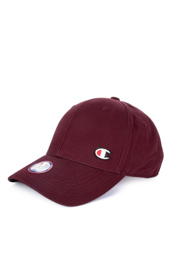 ca02e36ab4491 Champion Life red Classic Twill Hat - Dad Hat with C Patch  666A3AC0DDAA83GS 1