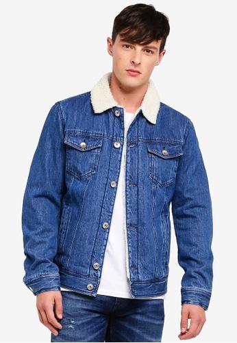 Buy United Colors of Benetton Padded Denim Jacket  1618569c331