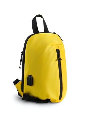 Lamborghini yellow Automobili Lamborghini® Galleria Yellow Single Handle Bodybag 3B70CAC4921A63GS_1