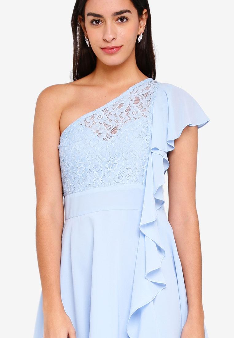 Beverly Blue TFNC Beverly Mini Mini Dress 5xUXFq
