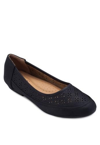 雕花娃娃鞋,esprit 評價 女鞋, 芭蕾平底鞋