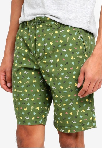 95017f9e4b Buy United Colors of Benetton Animal Print Bermuda Shorts