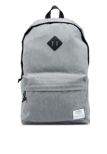 Topman grey Grey Branded Backpack AA43FAC88309F2GS_1