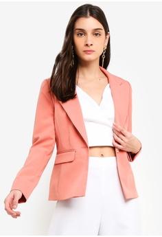 027f8683d10 Miss Selfridge pink Pink Nipped In Blazer 54C50AAB543F2FGS 1
