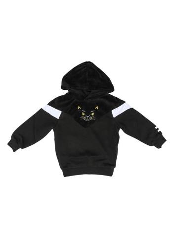 PUMA black Animals MCS Hoodie 8AF9AKA4B5B89EGS_1