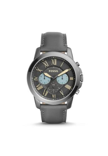 Fossil GRANT紳士型男錶 esprit台北門市FS5183, 錶類, 紳士錶