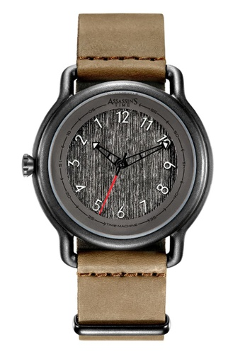 Assassin's Time brown Assassin's Time JAM TAWAF Brown Leather 3C88DACEAD7CACGS_1
