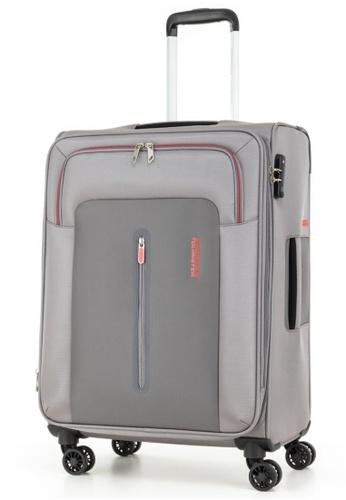 American Tourister grey American Tourister Limo Spinner 66/24 Exp TSA B547DAC2C0B3F0GS_1