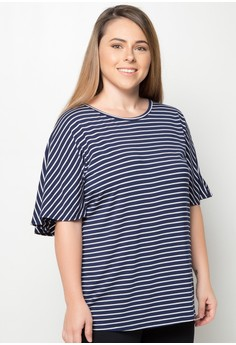 Cape Plus Size Top