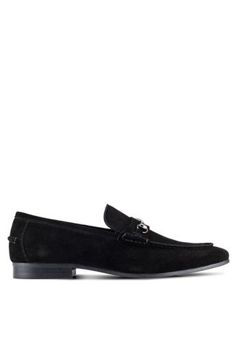 Dune London black Snaffle Loafers DU588SH0RQNFMY_1