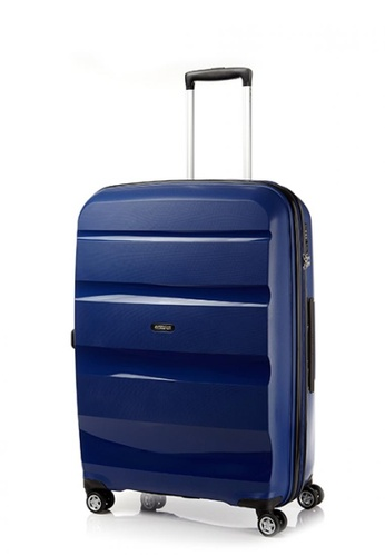 American Tourister navy American Tourister Bon Air Deluxe Spinner 75cm Exp AM536AC0FAHYSG_1