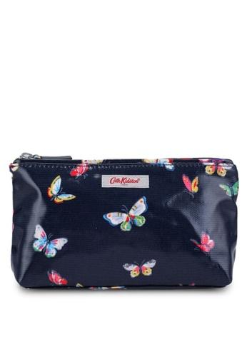 Cath Kidston navy Butterflies Zip Make Up Bag 5BF31AC56E2236GS_1
