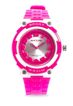 Girls Rubber Strap Watch MXPO-937D