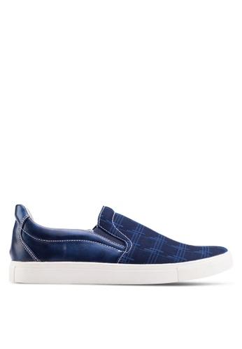 Emruti blue Casual Slip Ons EM016SH47QGMMY_1