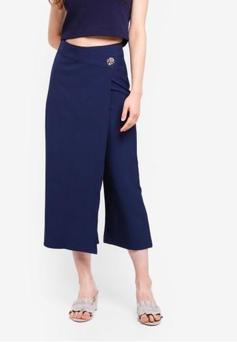 Megane blue Jadwiga Pants D6C0AAA6EADEE3GS_1