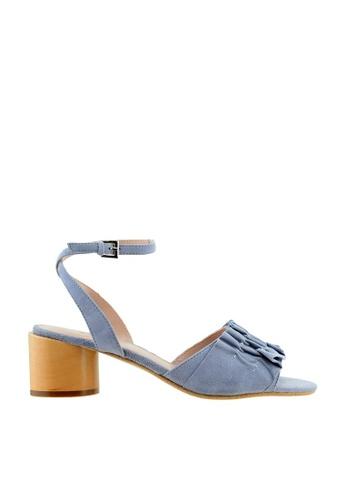 eq:iq blue eqSOPHIA Block Heel Ruffle Sandals EQ351SH21XRASG_1