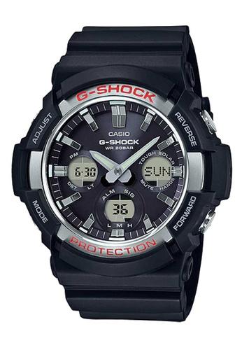 CASIO black Casio G-Shock Silver and Black Resin Watch AF7F4ACA7230E7GS_1