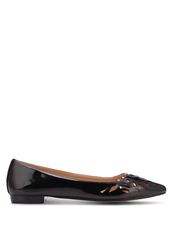 ZALORA black Cut-Out Flats 45B35SHD4E3786GS_1