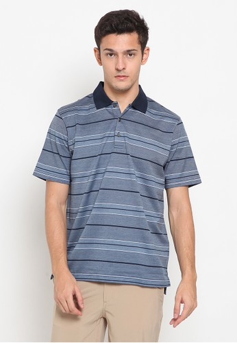 Jack Nicklaus navy Lacombe Premium Polo Shirt FB470AA2D14895GS_1