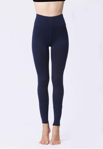 B-Code navy ZYG3058-Lady Quick Drying Running Fitness Yoga Sports Leggings -Navy E0919AA64873EBGS_1