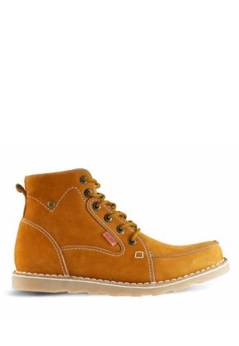 Sogno brown Sepatu Boot Pria GF.7817 9475BSH593EE25GS_1