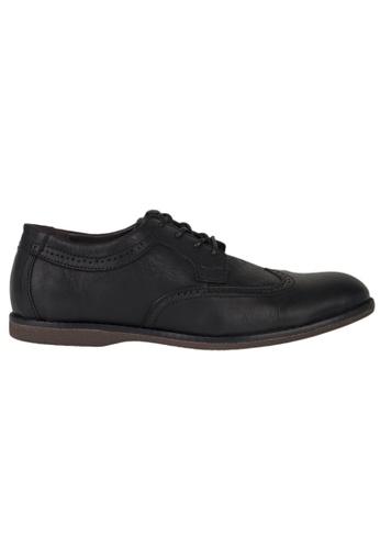 Tomaz black Tomaz C364 Casual Wingtip Brogues (Black) 38DF8SH16BF4B1GS_1