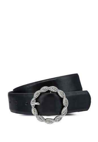 Pieces black Juta Jeans Belt D0E09ACCB93D52GS_1