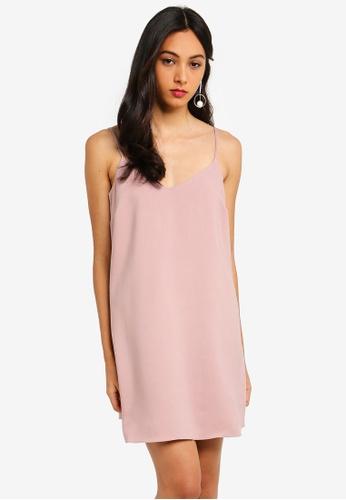 e50ef96f22 Buy MISSGUIDED Petite Cami Crepe Shift Dress Online on ZALORA Singapore