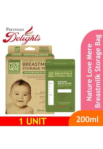 Prestigio Delights black Nature Love Mere Breastmilk Storage Bag 200ml AACDFESBDE9108GS_1