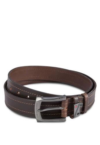 Lumberjacks 扣環皮esprit 見工革腰帶, 飾品配件, 皮帶
