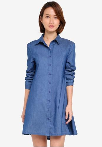 ZALORA multi Shirt Dress 08C95AAAB44485GS_1