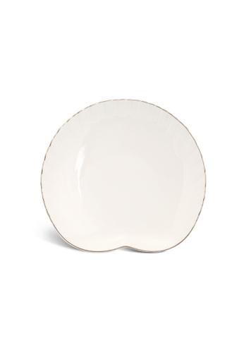Minh Long I white Fish & Clam: Porcelain Plate (20.6cm) 5D0AEHL1990F5FGS_1