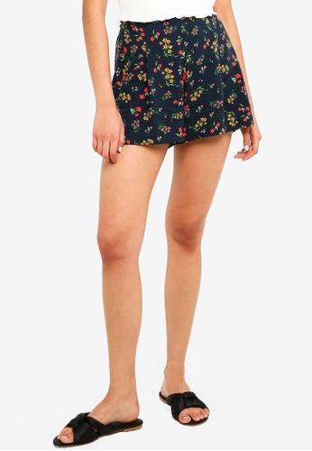 Cotton On blue Maya Flirty Shorts 141B7AADBC8312GS_1