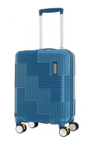 American Tourister blue American Tourister Velton Spinner 55/20 TSA Luggage 9BC77AC83C4DF7GS_1