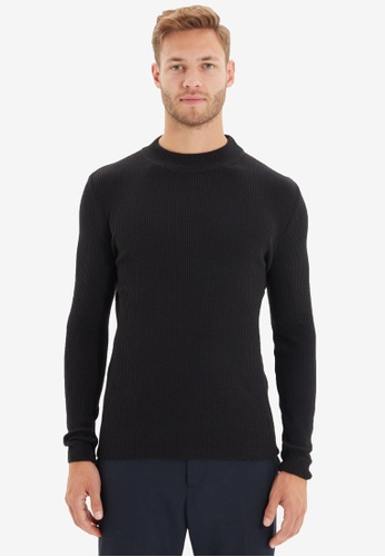 Trendyol black Black Sweater 28269AAFA619C8GS_1
