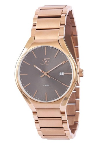 Teiwe Collection gold Moment Watch Teiwe Collection TC-CG3005 jam tangan pria - stainlles steel - Gold B82E6ACE6A0A0DGS_1