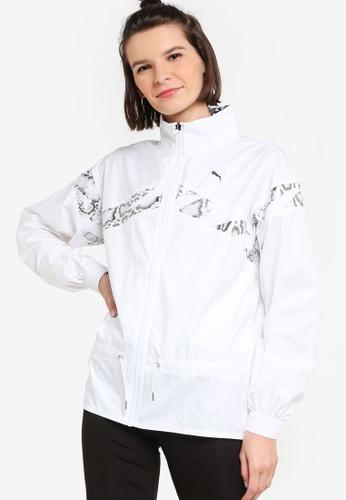 PUMA white UNTMD Woven Women's Training Jacket CB804AAD898B50GS_1