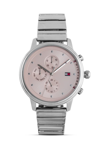 Tommy Hilfiger Watches grey and silver Women's Stainless Steel Watch 4D8AEAC80F99A0GS_1