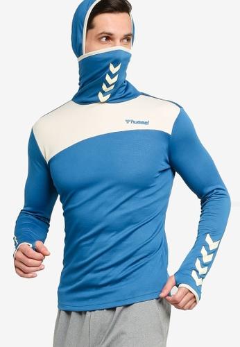 Hummel 藍色 Hummel Arius 帽T 71434AA88AA926GS_1